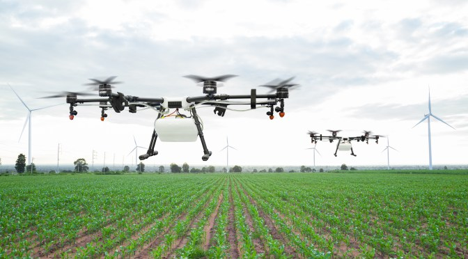 Skyx & Advanced Tactics Partner to Take Crop Spraying Drones to the Next Level