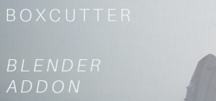 Blender 3D AddOn: Box Cutter 7.1.0 - BetaScythe Free Download