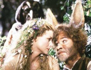 Bottom and the donkey's head, shakespeare A midsummer night's Dream, free readers