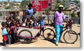 AggreBind community upliftment Bike Bakkie application