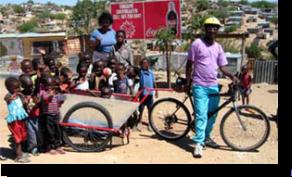 AggreBind community upliftment Bike Bakkie application