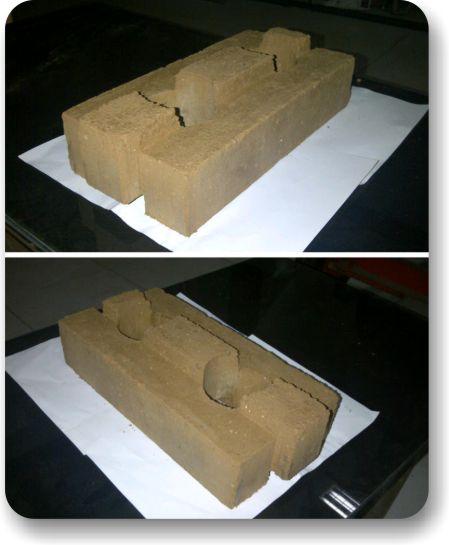 AggreBind interlocking soil stabilized bricks