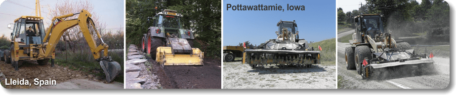 Preparation for Soil Stabilization - Equipment for Ripping/Breaking up Surface