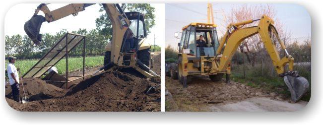 Equipment for soil stabilizing with AggreBind