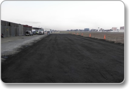 Stabilized soil Aero club