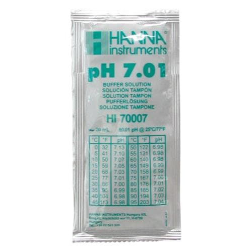 Hanna 7.01 pH Buffer Solution – Sachet