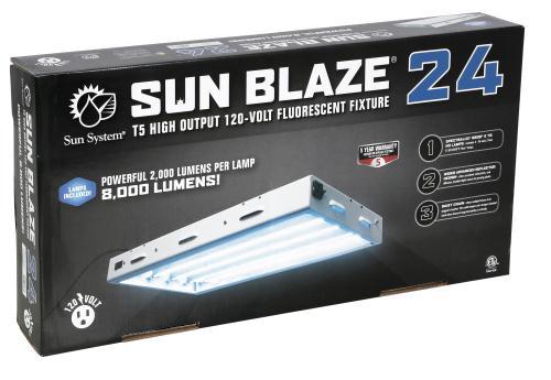 Sunblaze T5 HO Fluorescent Light Fixtures