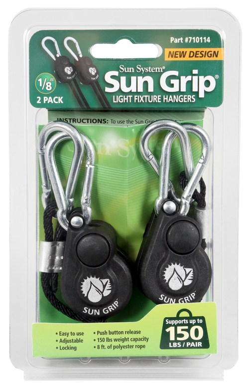 Sun Grip Light Hangers