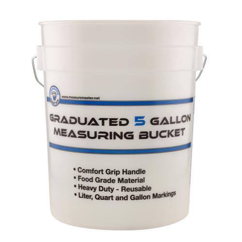 Measure Master Graduated Measuring Bucket