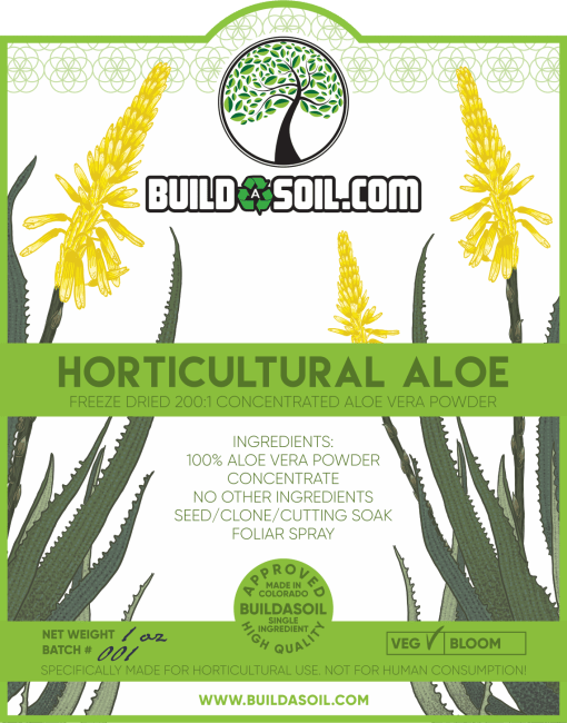BuildASoil Horticultural Aloe