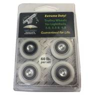 LightRail Extreme Duty Trolley Wheel Kit