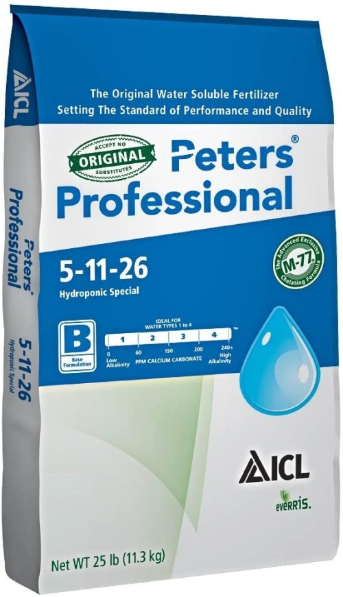 Peters Professional Hydroponic Special 5-11-26