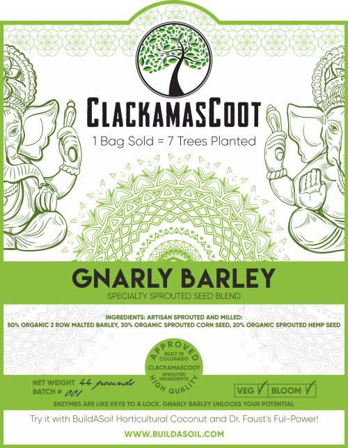 Clackamas Coots Official Gnarly Barley – Artisan Sprouted Seed Blend