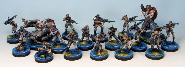 Volt Securities and Interdiction, my (commissioned) Ariadna force.