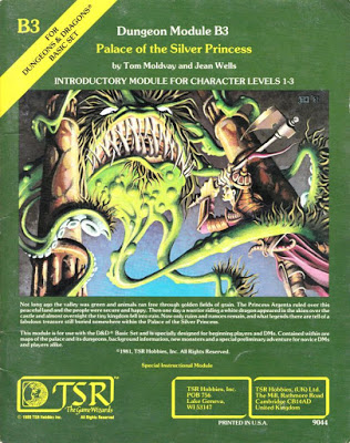 Mystara Monday: Module B3 - Palace of the Silver Princess