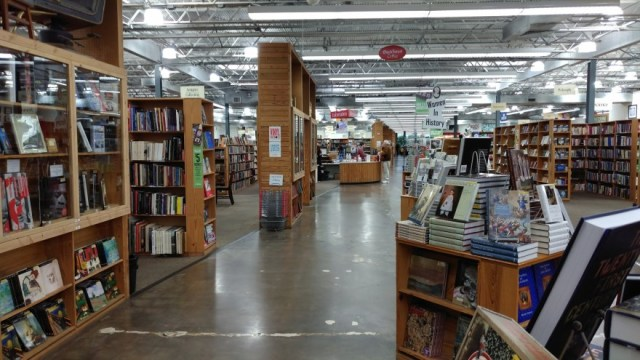 Half Priced Books Sale