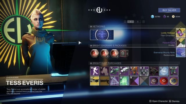 Bright Engrams Revisited