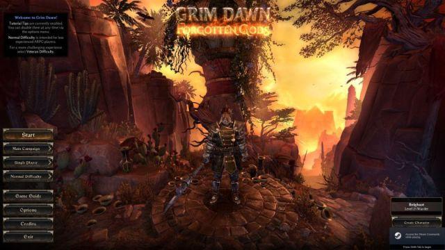 Exploring Grim Dawn