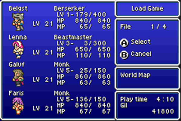 FFV_HorriblePartyTime