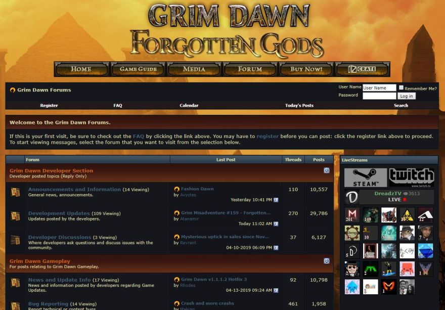 grimdawnforums