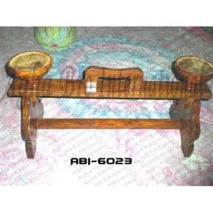 Double Sitting Wooden Blocks (ABI-6023)