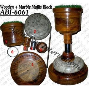 Wooden+Marble Majlis Block (ABI-6061)