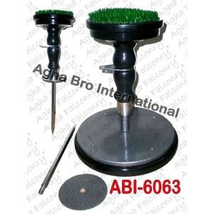 2in1 Wooden (Indoor+Outdoor) Block with Steel Plate(ABI-6063)