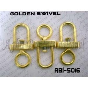 D-Shape Golden Swivels (ABI-5016)
