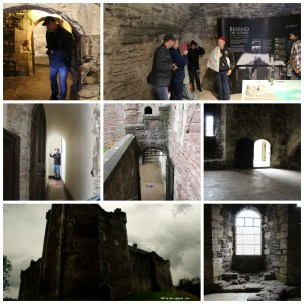 Doune Castle collage