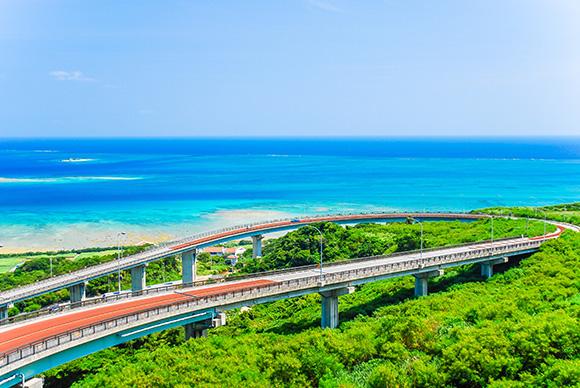 ニライカナイ橋絶景