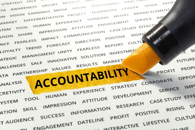 Continuously Improving through Accountability