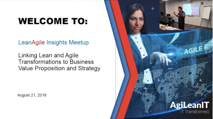 Silicon Valley Meetup LeanAgile Insights event