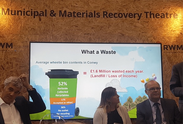 conwy council talk waste recycling RWM 2017