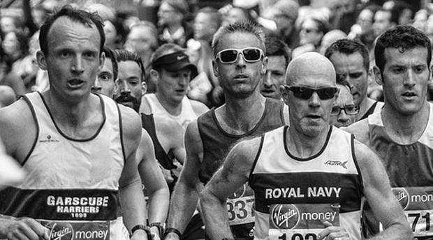 london marathon generated tonnes of waste