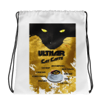 Ulthar Cat Cafe Drawstring Bag