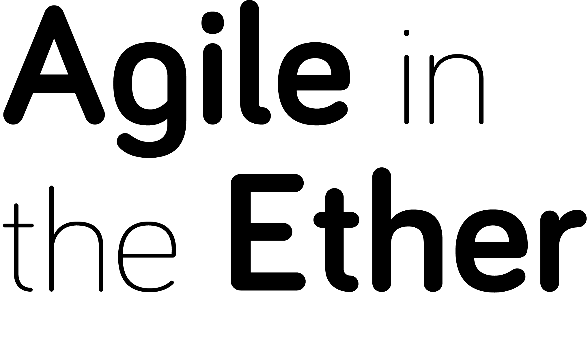 Agile In The Ether