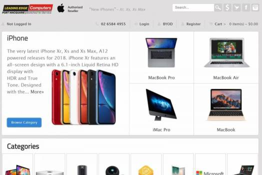 An Online Store Story, Leading Edge