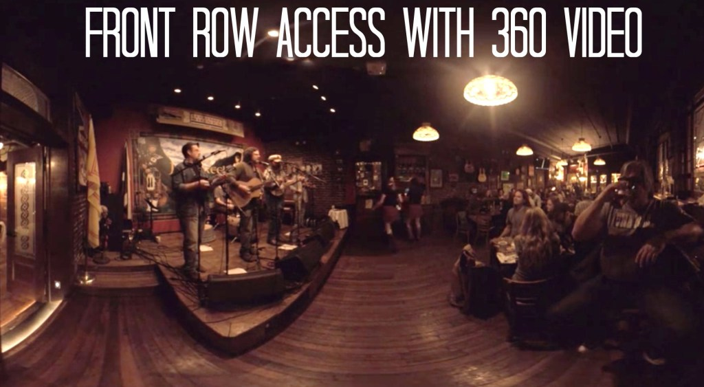 360 Video for Bands