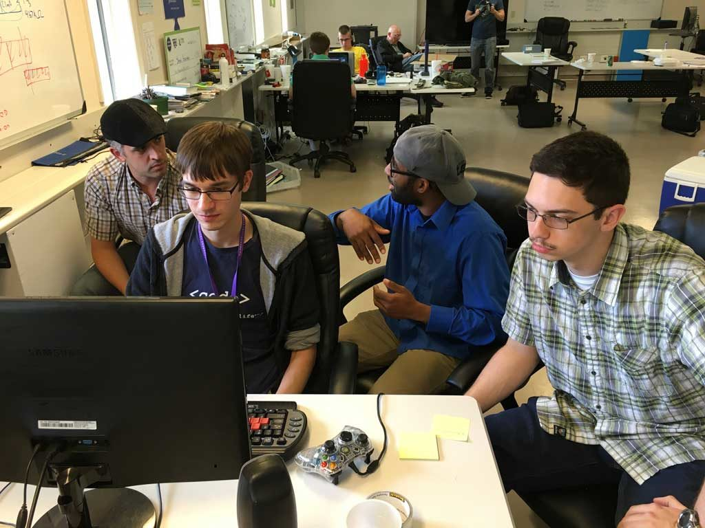 The Hololens Hackathon at the Biz Foundry created Tennessee's First Hololens App!