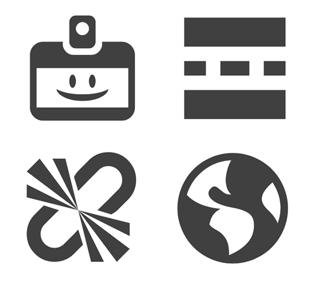 DashIcons variations in complexity