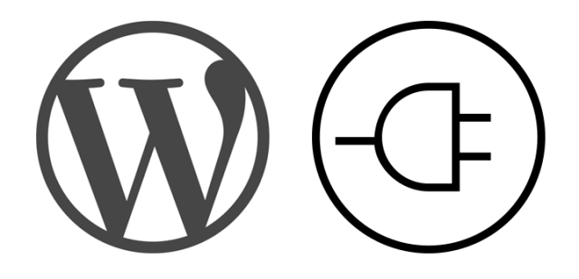 Icons and WordPress logo