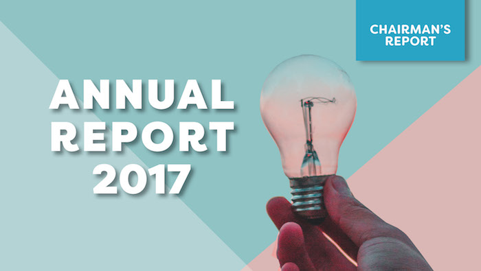 2017 Annual Report: Chairman's Report