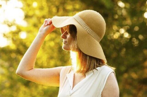 肌年齢が若い紫外線対策