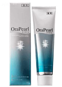 歯を白くする歯磨き粉 薬用オーラパール