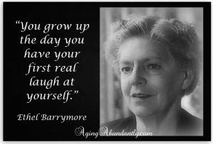 Ethel Barrymore Quote