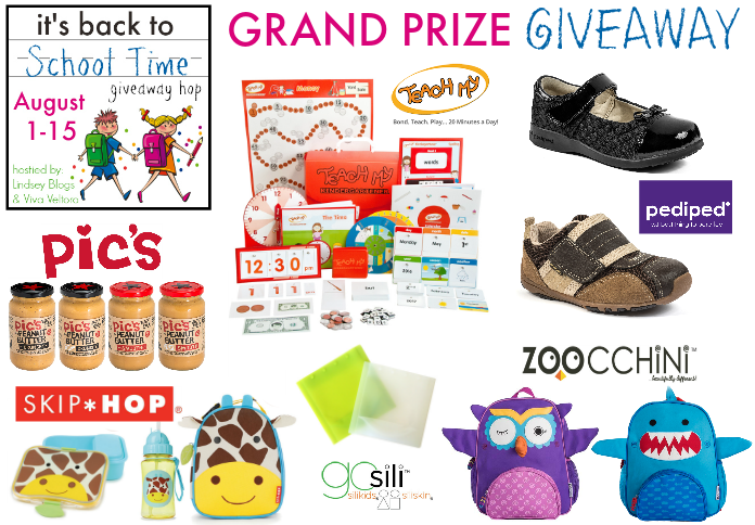 Back to school giveaway grand prize