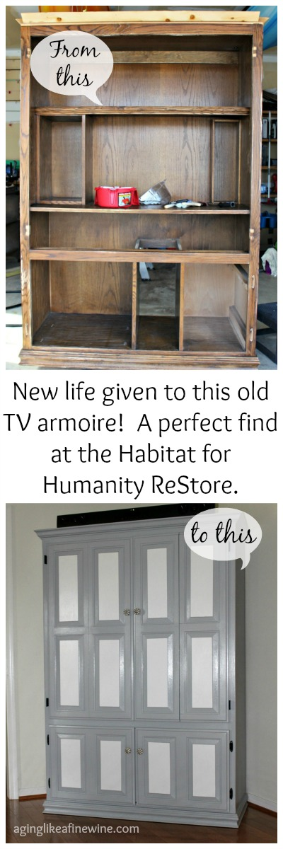 Painted Tv Stand