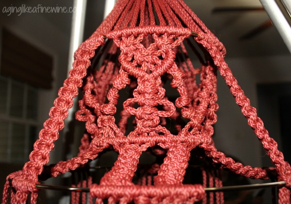 Macrame Wind Holder