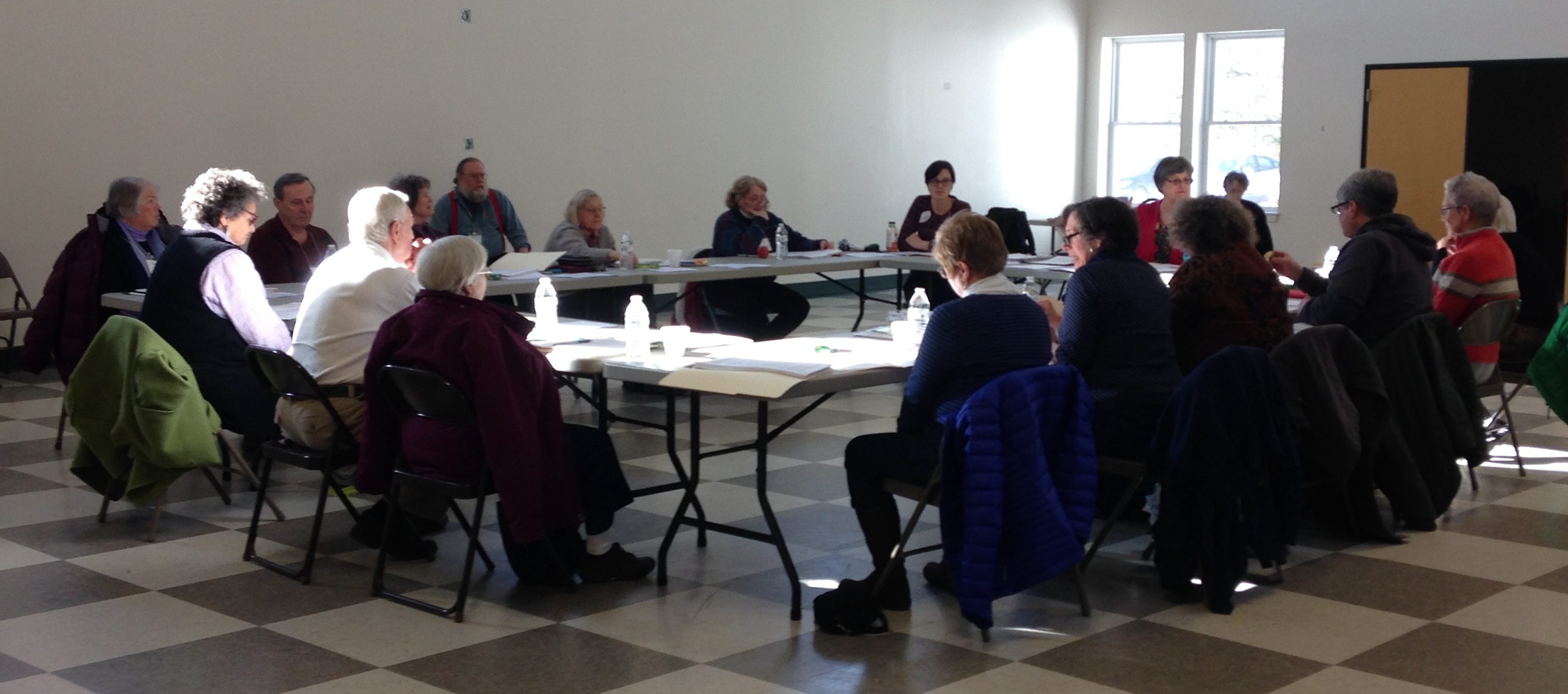 Aging Well in Waldo County Survey Training