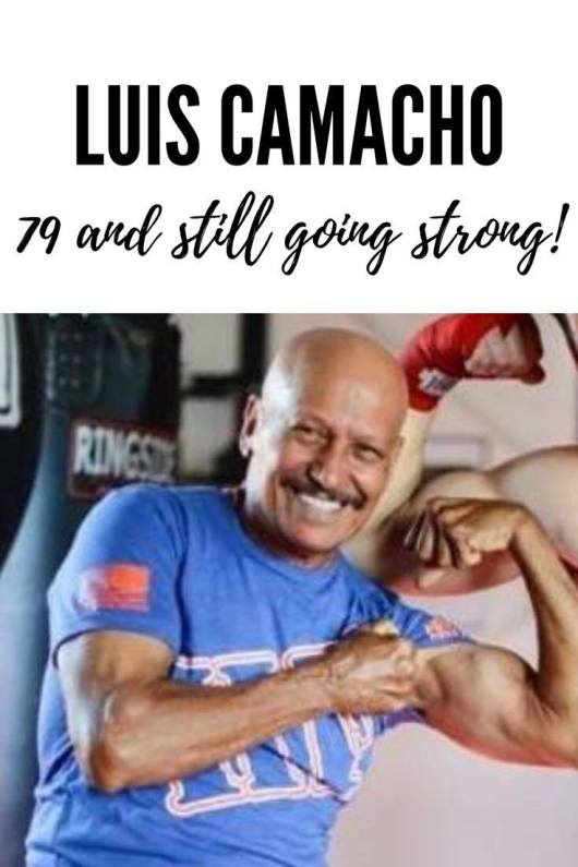 No Aging Mindset Here! Luis Camacho, 79 years young and still going strong!